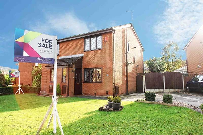 2 Bedrooms Semi Detached House for sale in 17 James Road, Shaw