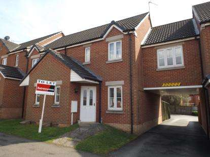 2 Bedrooms Terraced House for sale in Manrico Drive, Lincoln, Lincolnshire