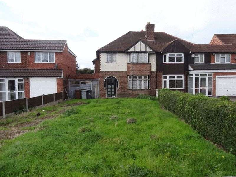 3 Bedrooms Semi Detached House for sale in Bescot Crescent, Walsall