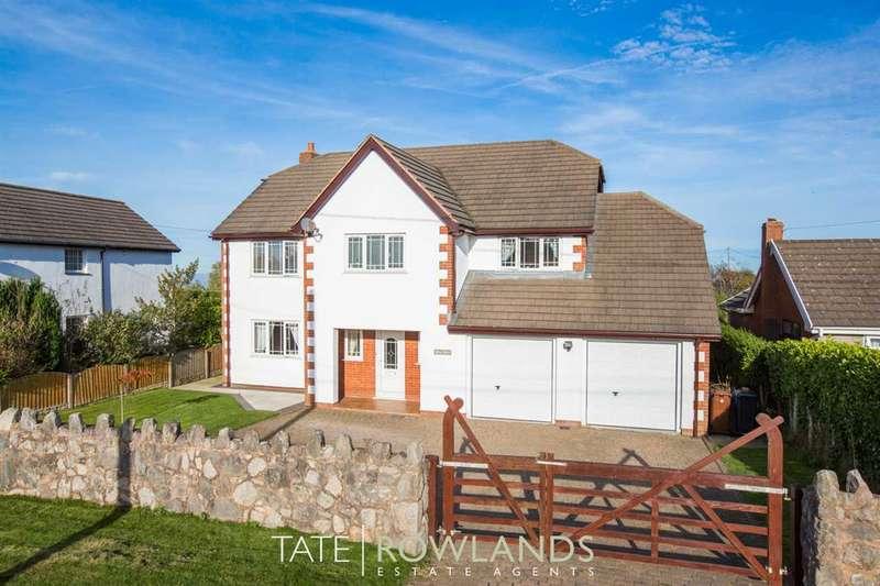 5 Bedrooms Detached House for sale in Rhos Barn, Brynsannan, Brynford