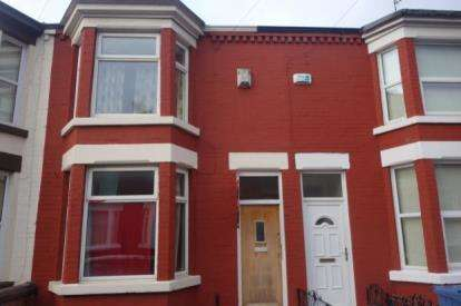 2 Bedrooms Terraced House for sale in Cranborne Road, Liverpool, Merseyside, L15