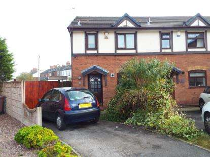 3 Bedrooms End Of Terrace House for sale in Henllan Gardens, St. Helens, Merseyside, WA9