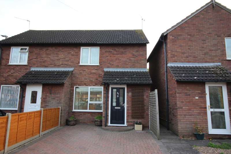 2 Bedrooms Semi Detached House for sale in Christopher Drive, Thurmaston