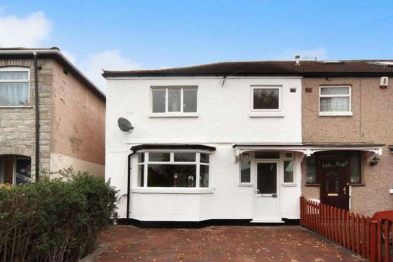 3 Bedrooms Semi Detached House for sale in Birkbeck Avenue, Greenford
