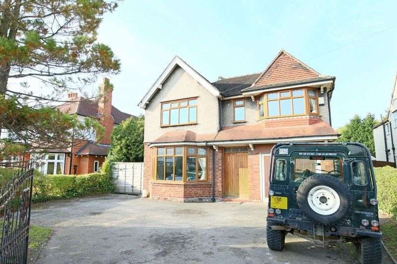 4 Bedrooms Detached House for sale in Nantwich Road, Crewe