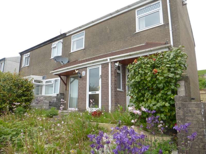 3 Bedrooms Semi Detached House for sale in Cae'r Gwerlas, Tonyrefail, Porth