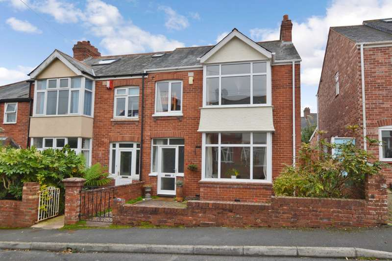 3 Bedrooms End Of Terrace House for sale in Exeter