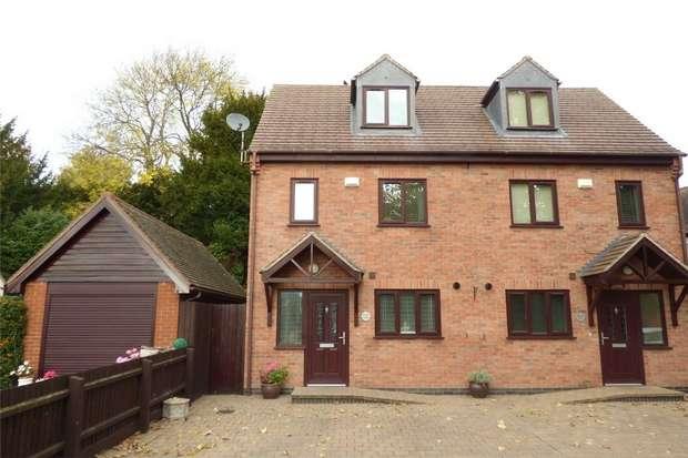 3 Bedrooms Semi Detached House for sale in Brook Lane, Weddington, Nuneaton, Warwickshire