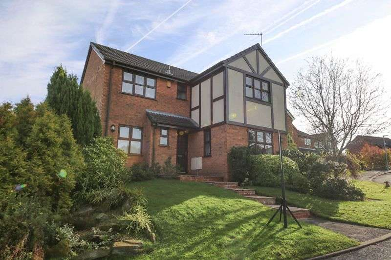4 Bedrooms Detached House for sale in Briarly, Standish, Wigan