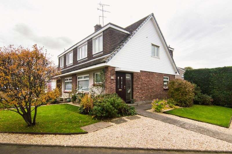 3 Bedrooms Semi Detached House for sale in 21 Douglas Road, Longniddry, East Lothian, EH32 0LQ