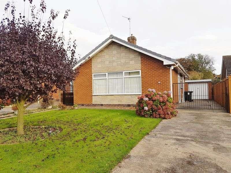 2 Bedrooms Detached Bungalow for sale in Elm Crescent,Burgh Le Marsh