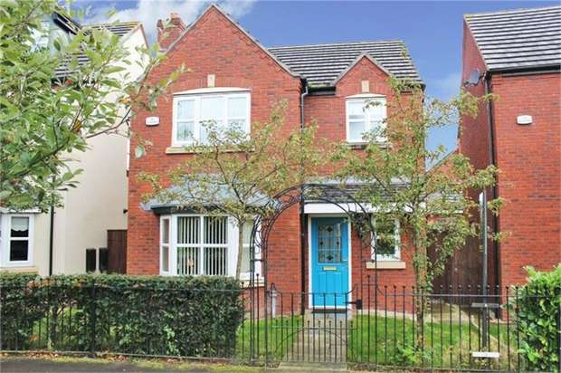 3 Bedrooms Detached House for sale in Rossington Gardens, St Helens, Merseyside
