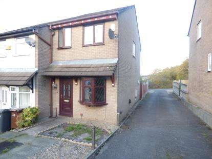 2 Bedrooms Semi Detached House for sale in Kelswick Drive, Nelson, Lancashire