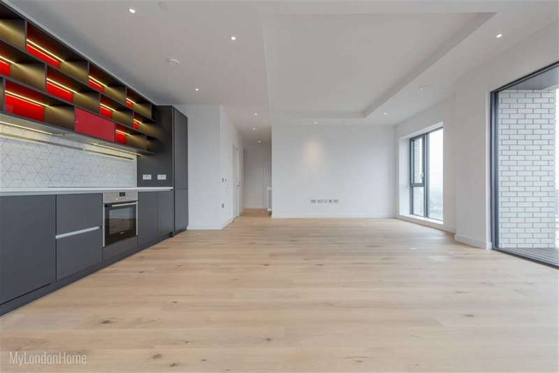 2 Bedrooms Property for sale in Grantham Building, Canary Wharf, London, E14