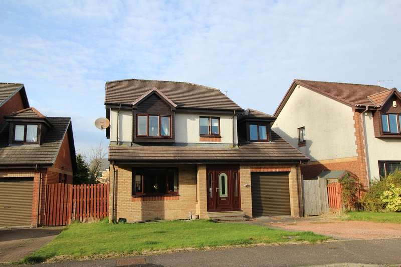 4 Bedrooms Detached House for sale in Rosa Burn Avenue, East Kilbride, GLASGOW, G75