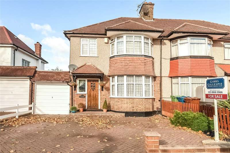 4 Bedrooms Semi Detached House for sale in Elm Grove, Harrow Garden Village, Middlesex, HA2