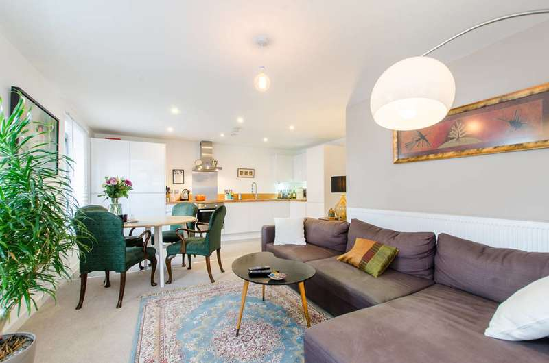 2 Bedrooms Flat for sale in Akerman Road, Brixton, SW9
