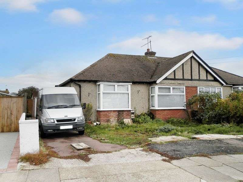 2 Bedrooms Bungalow for sale in Elms Drive, Lancing