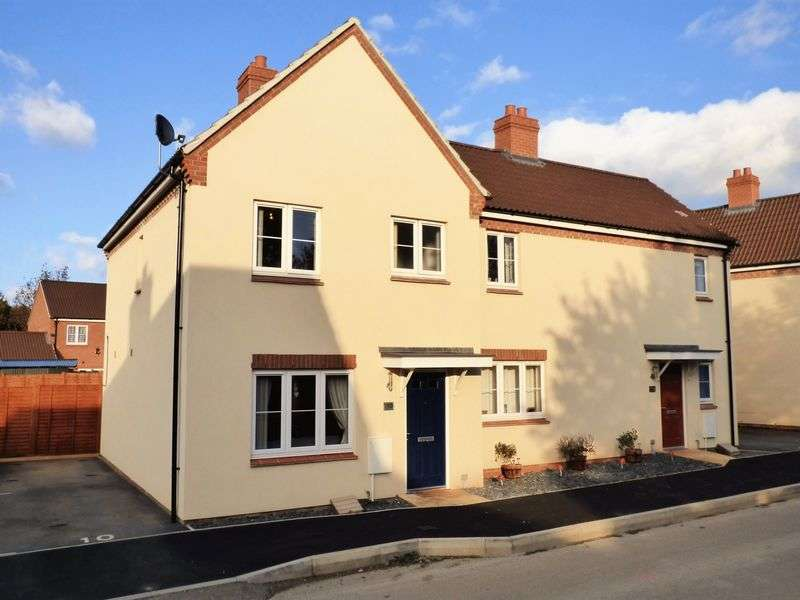 3 Bedrooms Semi Detached House for sale in Deopham Green Kingsway, Gloucester