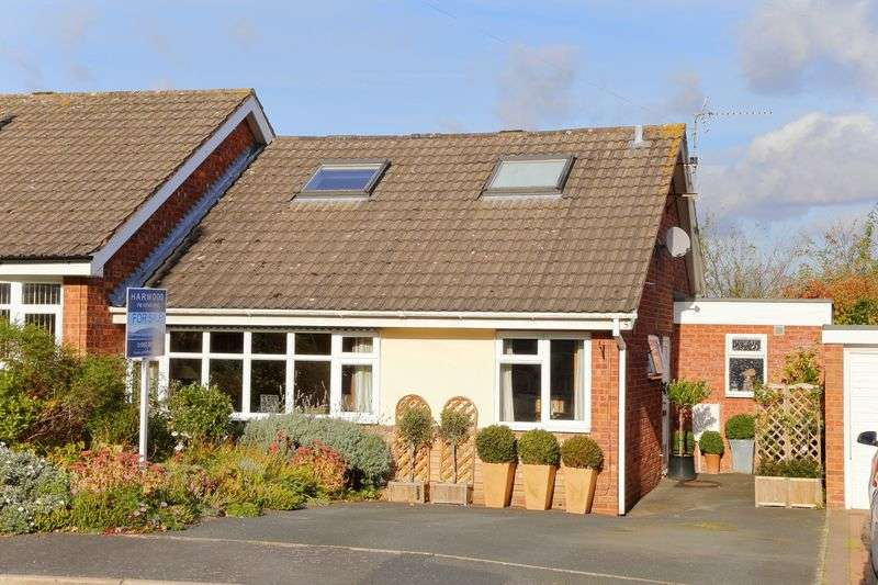 4 Bedrooms Semi Detached Bungalow for sale in Bramble Wood, Broseley