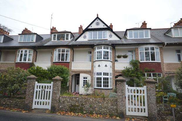 4 Bedrooms Terraced House for sale in Millford Road, Sidmouth, Devon
