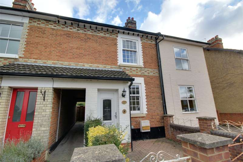 3 Bedrooms Terraced House for sale in Grove Road, Chertsey, Surrey, KT16