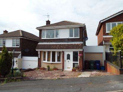 3 Bedrooms Link Detached House for sale in Claygate Road, Wimblebury, Staffordshire