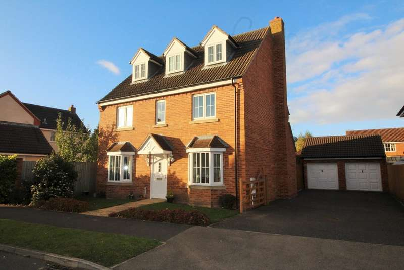 5 Bedrooms Detached House for sale in Haywain Drive, Deeping St Nicholas, PE11 3TQ