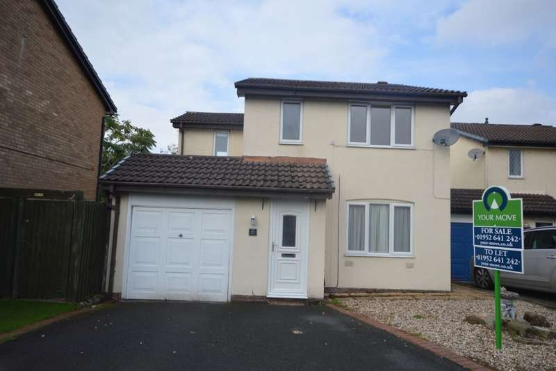 4 Bedrooms Detached House for sale in Manchester Drive, Apley, Telford, TF1