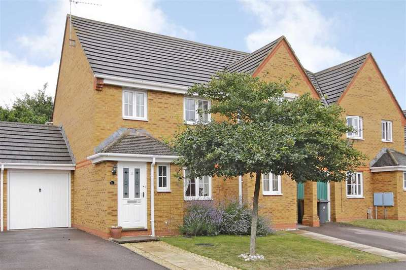 3 Bedrooms End Of Terrace House for sale in Saxon Fields