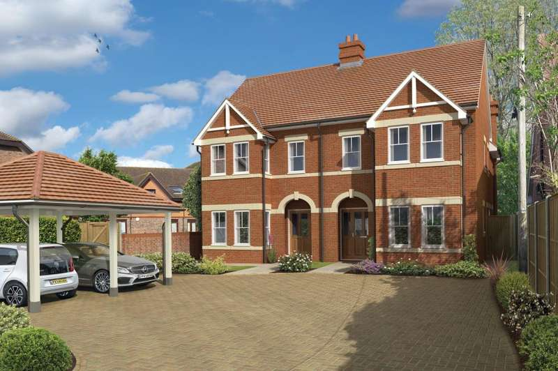 3 Bedrooms Semi Detached House for sale in NEW BUILD , Bickerley Road, Ringwood, BH24 1EG