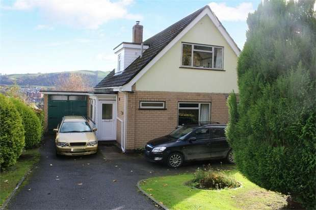 4 Bedrooms Detached House for sale in High Trees, Fron Lane, Newtown, Powys