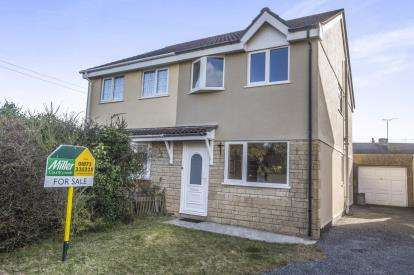 3 Bedrooms Semi Detached House for sale in St. Erme, Truro, Cornwall