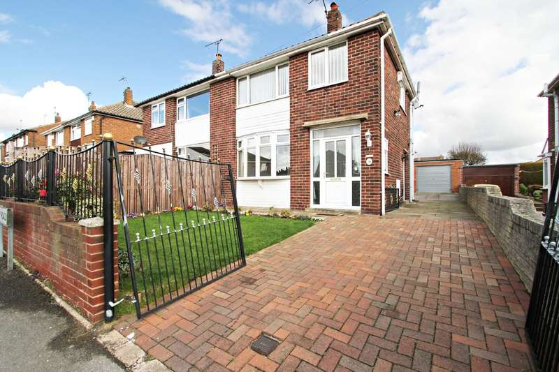3 Bedrooms Semi Detached House for sale in Scholey Road, Wickersley, Rotherham