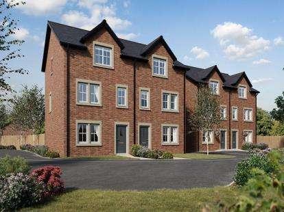 3 Bedrooms Terraced House for sale in Waterside, Cottam Way, Cottam Preston, PR4