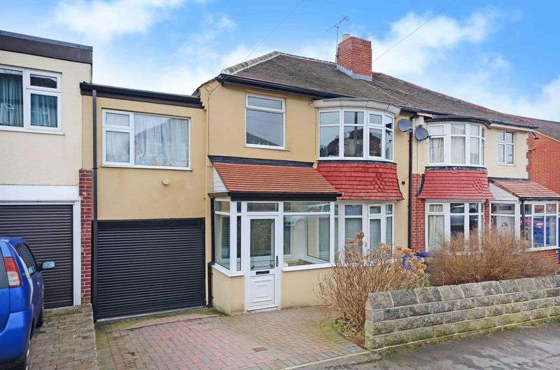 4 Bedrooms Semi Detached House for sale in Ringstead Crescent, Crosspool, Sheffield, S10 5SH