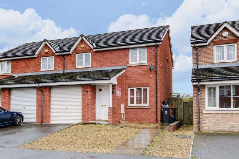 3 Bedrooms Semi Detached House for sale in Argosy Way, Newport