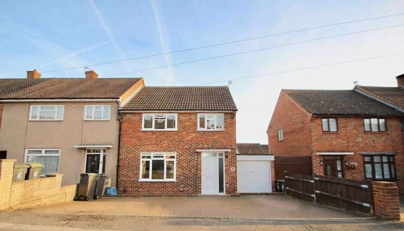 3 Bedrooms Semi Detached House for sale in Honeycroft, Loughton