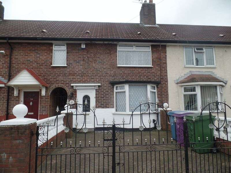 3 Bedrooms House for sale in 32 Burtree Road, Liverpool - For Sale by Auction 14th December 2016