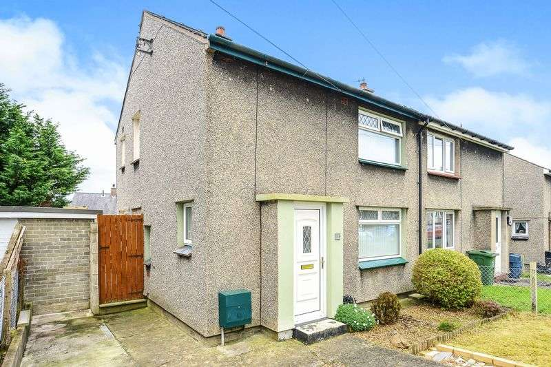 2 Bedrooms Semi Detached House for sale in Min Y Ddol, Bangor LL57