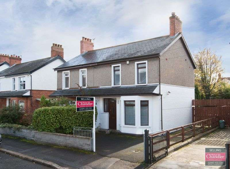 3 Bedrooms Semi Detached House for sale in 12 Ardenlee Parade, Belfast, BT6 0AL