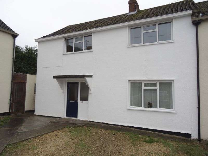 3 Bedrooms Semi Detached House for sale in Bendy Bow - Oaksey - Malmesbury - Wiltshire - SN16
