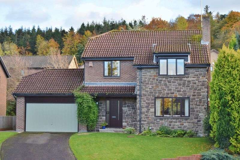 4 Bedrooms Detached House for sale in Loughbrow Park, Hexham