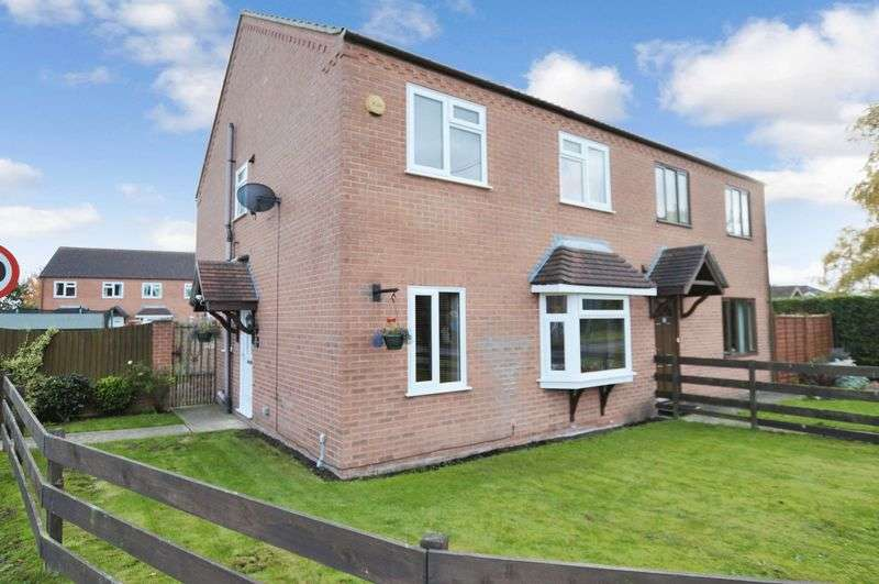 3 Bedrooms Semi Detached House for sale in 9 Roeze Close, Woodhall Spa