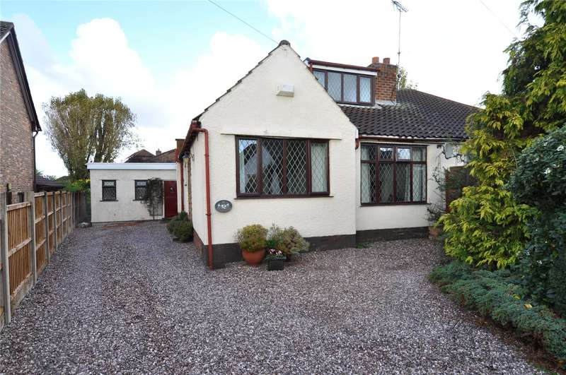 4 Bedrooms Semi Detached Bungalow for sale in Miles Lane, Greasby, Wirral