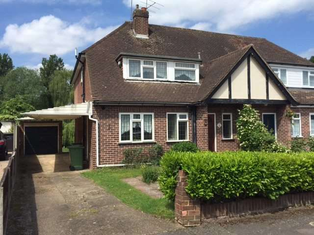 2 Bedrooms Semi Detached House for sale in Fortescue Road, Weybridge, Surrey, KT13