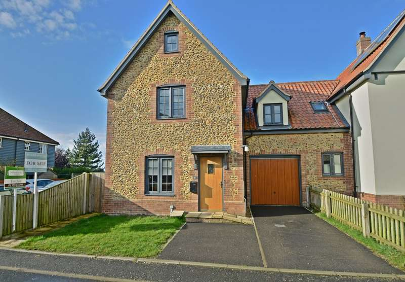 3 Bedrooms End Of Terrace House for sale in Spinney Drive, East Harling