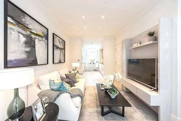 3 Bedrooms Flat for sale in The Terrace, London, N5
