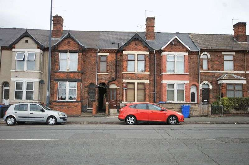 3 Bedrooms Terraced House for sale in LONDON ROAD, ALVASTON