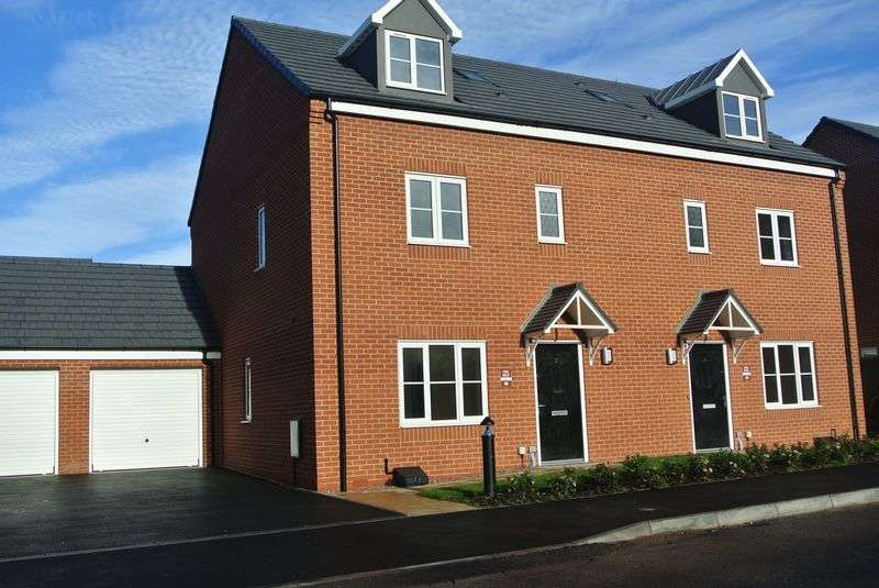 4 Bedrooms Semi Detached House for sale in Nightingale Walk, Lightmoor, Telford, Shropshire.
